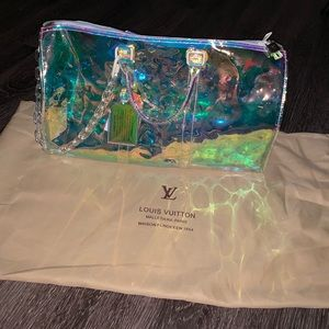 Limited addition Louis Vuitton duffle